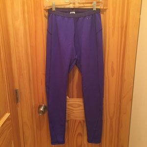 The North Face Pants & Jumpsuits - The North Face Women's Warm Legging Royal Blue - M